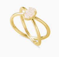 Kendra Scott Emilie Gold Double Band Ring in Gold