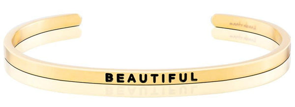 "MantraBand Gold ""Beautiful"" Bracelet"