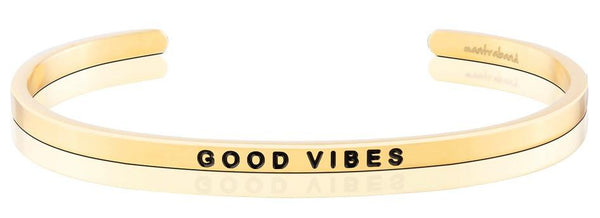 MantraBand Gold Good Vibes
