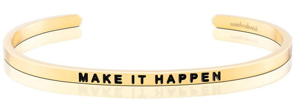 MantraBand Gold Make It happen