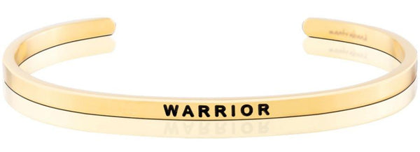 MantraBand Gold Warrior