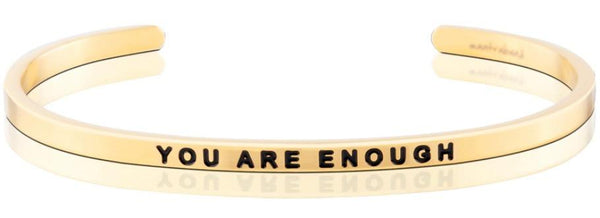 MantraBand Gold You Are Enough