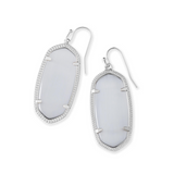 Kendra Scott Elle Earrings Rhodium
