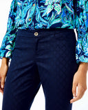 Lilly Pulitzer Kelly ankle Pant- Navy