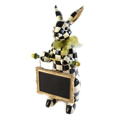MKC Courtly Check Menu Rabbit