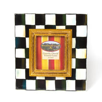 MacKenzie Childs courtly check frame 2.5 x 3