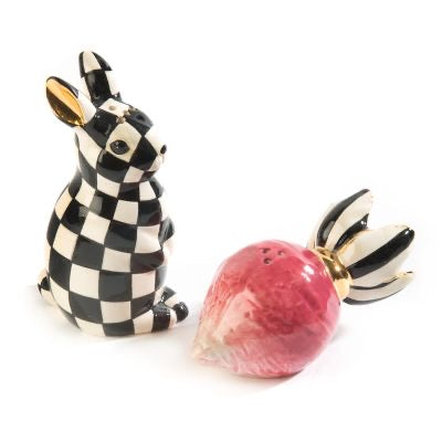 MKC Radish Rabbit Salt and Pepper Set