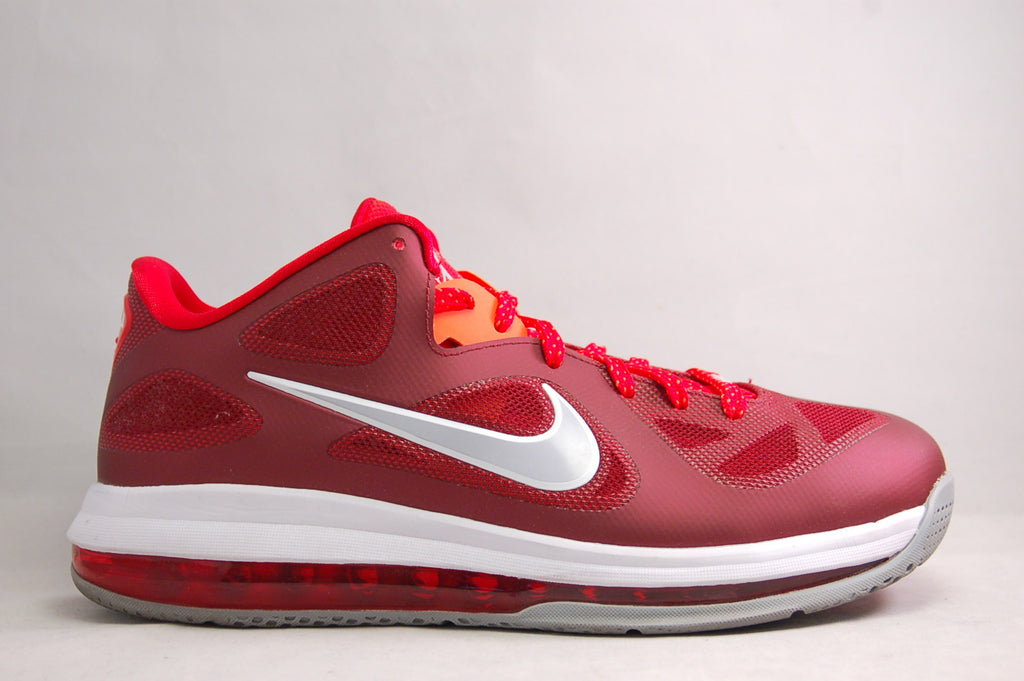 Lebron 9 Low Maroon