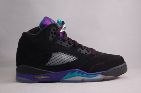Jordan V Black Grape GS