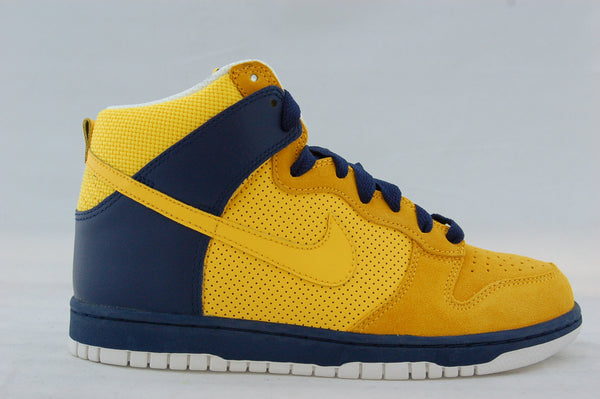 Nike Dunk High Yellow/Navy