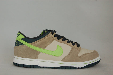 Nike Dunk Low Tan/Green GS
