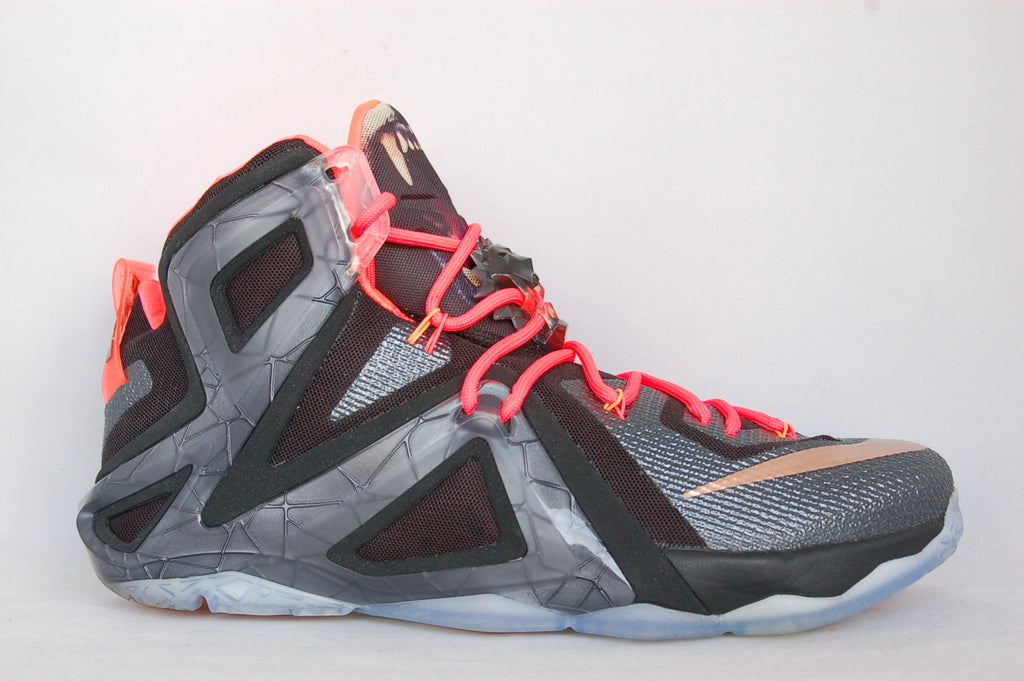 LeBron 12 Elite Black/Solar Red