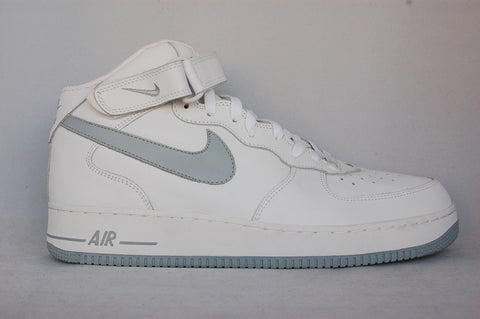 Air Force 1 Mid White/Silver