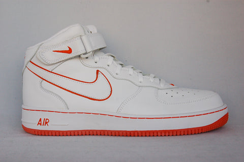 Air Force 1 Mid White/Orange