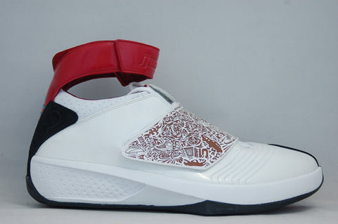 Jordan XX White Red GS