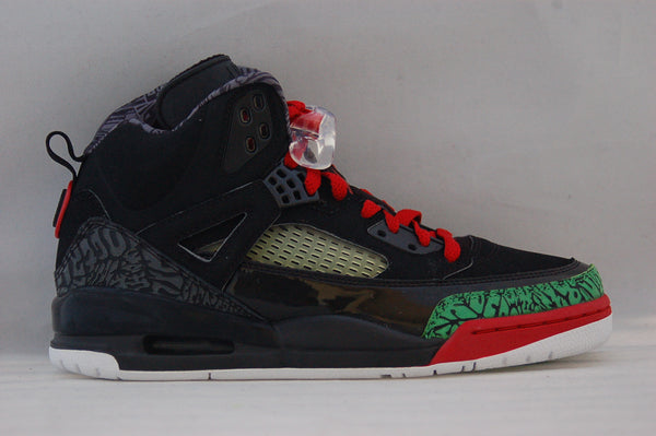 Jordan Spizike Black Green/Red