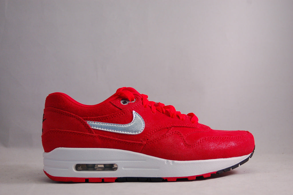 Air Max 1 Womens Red/White