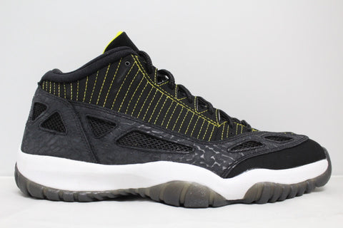 Jordan XI Low IE Zest Yellow GS