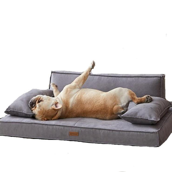 Luxury Memory Foam Pet Sofa - Max & Cocoa