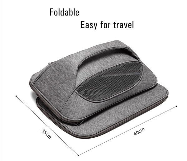 Foldable Pet Travel Carrier - Max & Cocoa