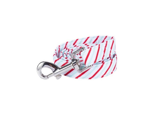 Dapper Striped Bow Tie Collar & Leash - Max & Cocoa