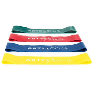 Yellow ARTZT vitality Rubber Band