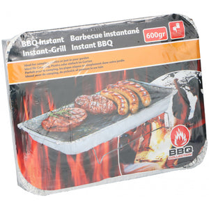 Light Salmon BBQ Collection instant BBQ Aluminium 600 Gramm