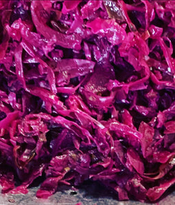 Red cabbage & pear miso ferment