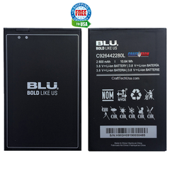 BLU J6 J130EQ Original OEM Battery C926442280L 2800mAh 3.8V