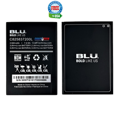 For BLU NEO X OEM Battery C825837200L 2000mAh 7.6 wh Original OEM Battery