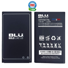 BLU Tank Plus 2 T530 Original OEM Li-ion Battery C674162170L