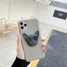 Load image into Gallery viewer, Hot 3D French bulldog phone case