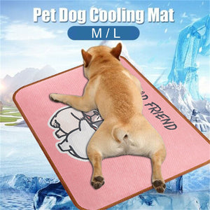 Summer Cooling Mat French Bulldog Design