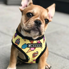 Load image into Gallery viewer, Fashion Icecream French Bulldog Harness