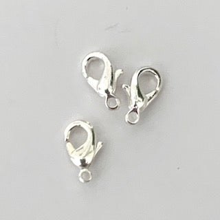 15mm Lobster Claw - Silver colour