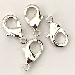 18mm Lobster Claw - Silver colour