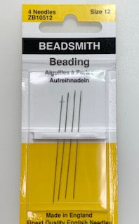 English Beading Needle - Size 12