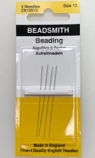 English Beading Needle - Size 13