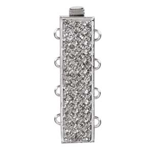 CLSP38SP  10 x 25mm Clasp - 4 Strand