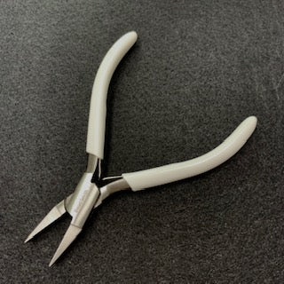 Flat Nose Box Joint Plier with spring