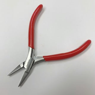 Slimline Flat Nose plier with spring