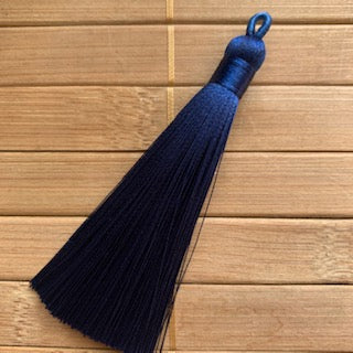 Tassel  -  Navy Blue