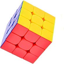 3x3 Stickerless Speed Cube Puzzle Warrior Magic Cube