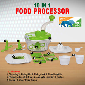 BuyerFan™ 10 in 1 Food Processor