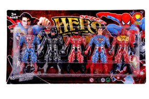 5 In 1 Twist And Move Avengers Super Hero Action Figure Play Set