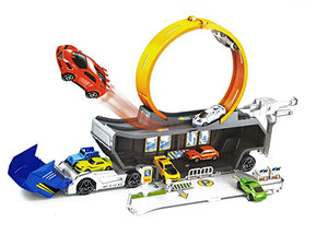 Stunt Track Truck Mobile play set
