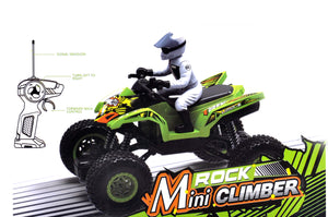 Rock Mini CLimber Off Road Monster Truck | 1:18 Scale | 27 Mhz | 4X4 | Rechargeable