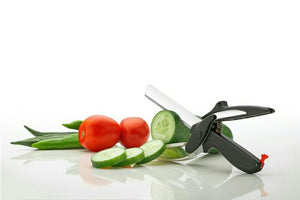 Smart Knife | Cutting Board Scissors | 2 in 1 Cutter
