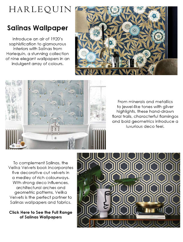 Harlequin Salinas Wallpaper Range