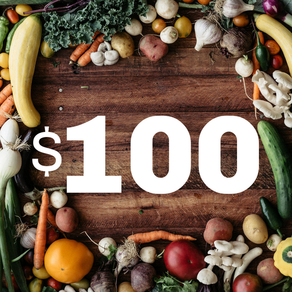 $100 Donation to the Random Harvest Food Access Fund